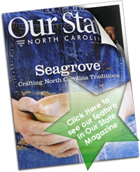 Click here to see our feature in Our State Magazine